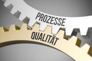 Prozesse und Qualität sind miteinander verbunden